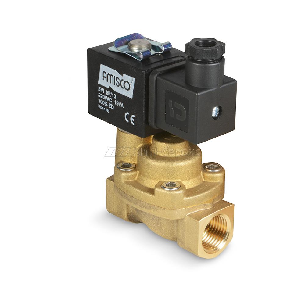 Клапан электромагнитный: устройство и принцип работы :
