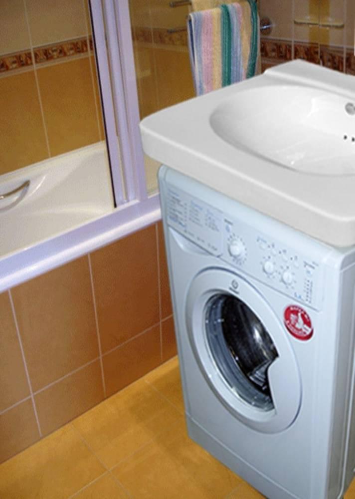 Раковина над стиральной машиной: фото