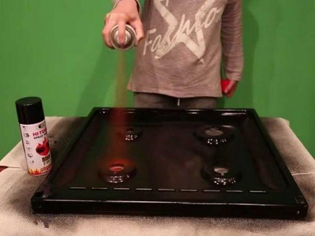 Как покрасить кафельную плитку на кухне: пошаговое руководство перекраски