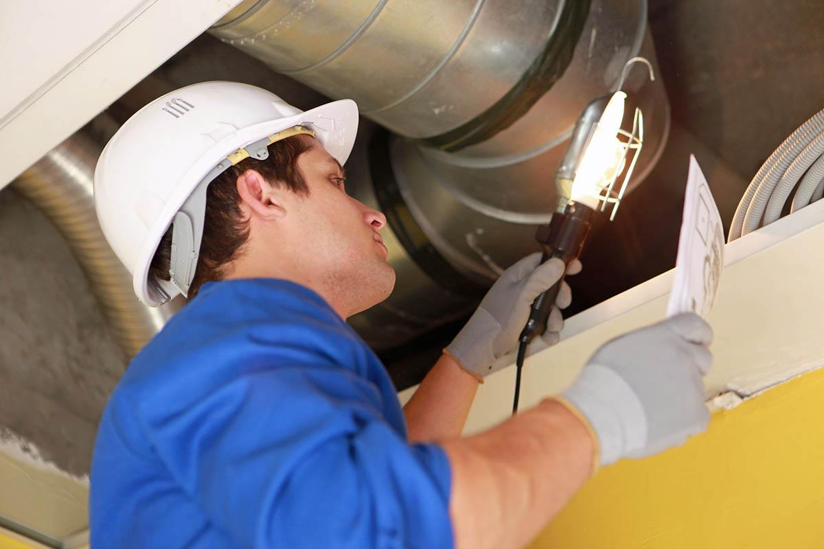 Техническое обслуживание вентиляции и вентиляционных систем