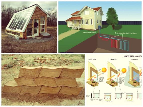 Строительство эко дома своими руками: виды и схемы экодомов - точка j