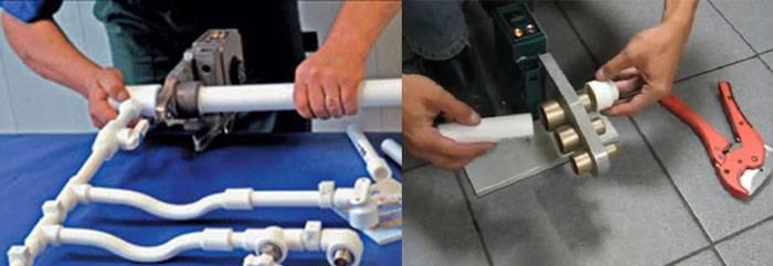 Пайка полипропиленовых труб своими руками: правила монтажа, советы, ошибки
