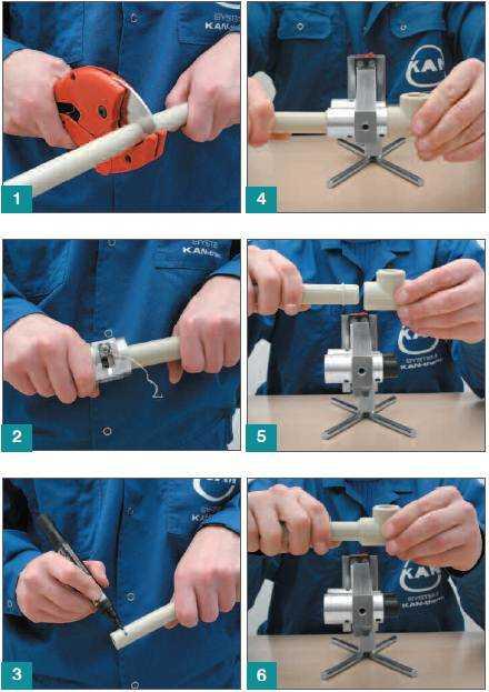 Пайка полипропиленовых труб: как правильно паять своими руками, инструкция