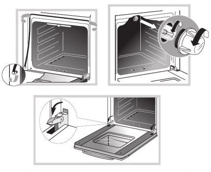 Самостоятельный ремонт духовки электроплиты. поиск неисправности и устранение неполадок