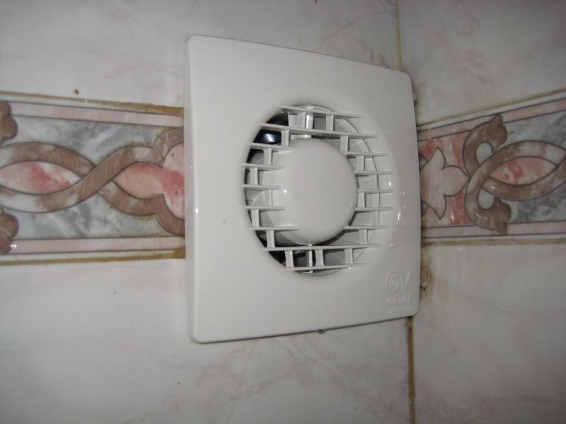 Как самостоятельно установить вентилятор в ванной комнате