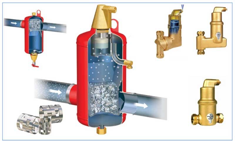 Как убрать воздух из системы отопления - советы профессионалов