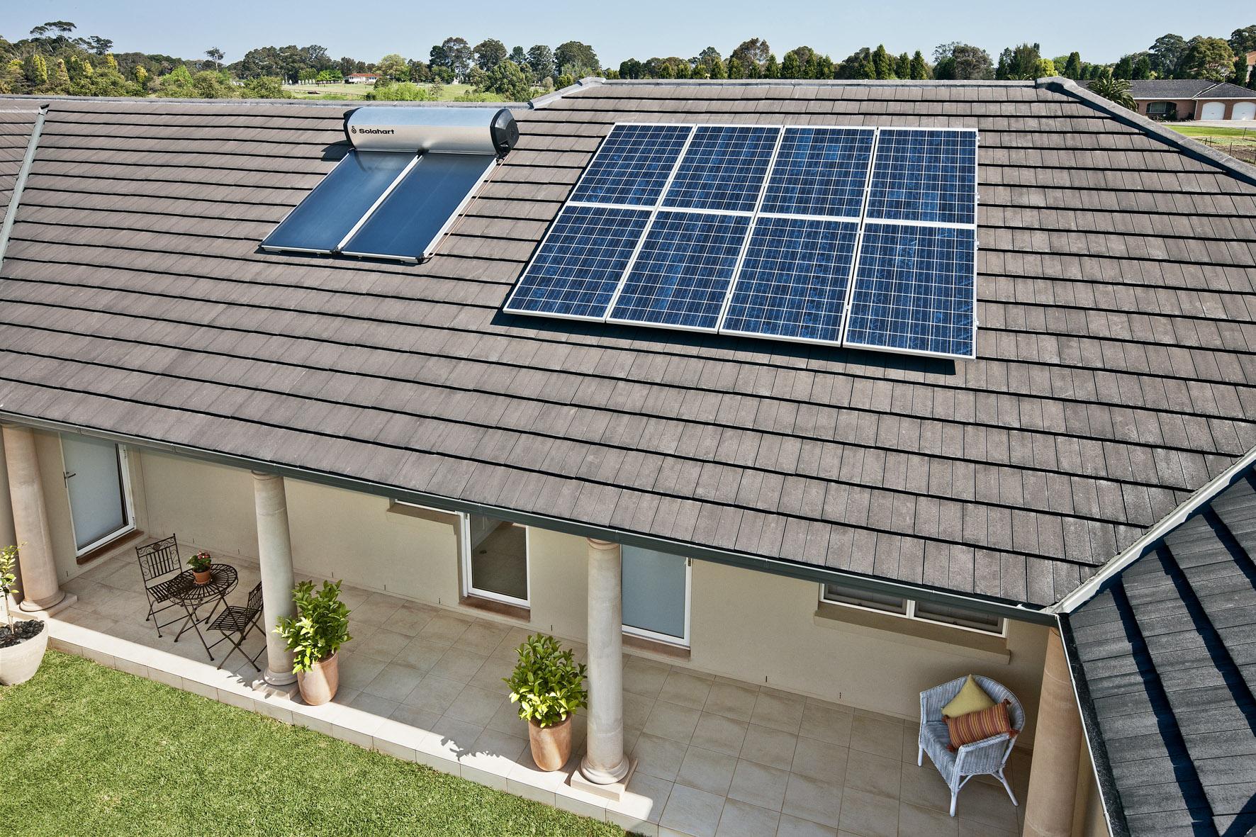 Солнечное отопление частного дома: варианты и схемы устройства