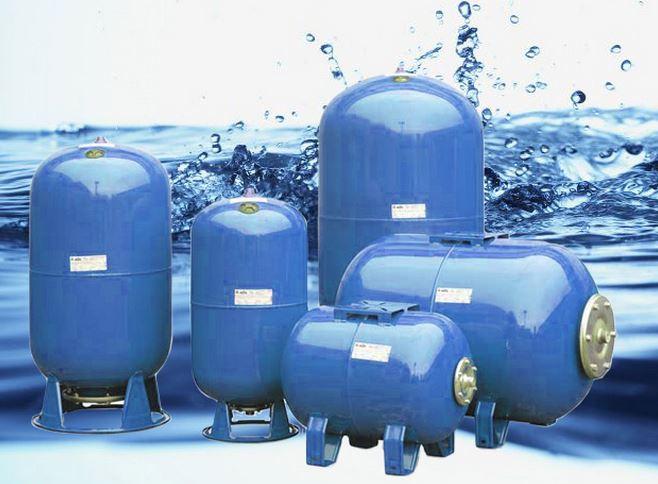 Расширительный бак в системе водоснабжения: виды и типы, принцип работы