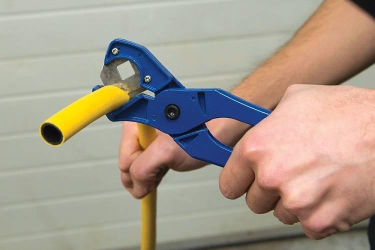 Мастер класс сантехника: выбираем ножницы для резки полипропиленовых труб