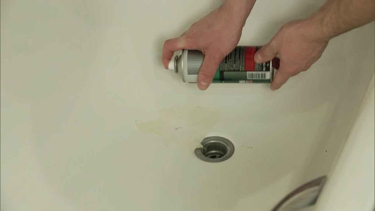 Как правильно заделать скол, образовавшийся на эмалированной ванне
