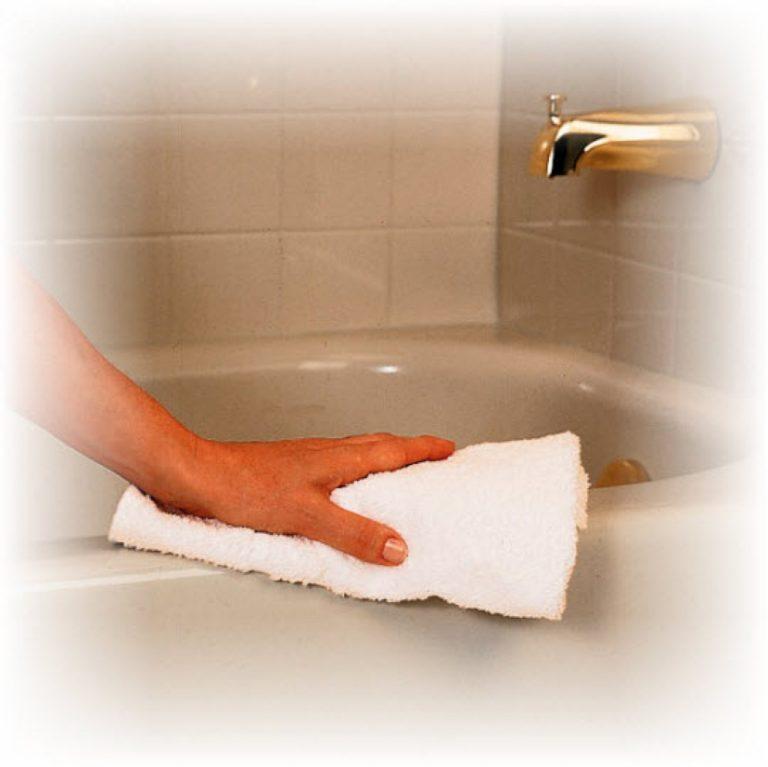 Как и чем мыть ванну, чистка от налета в домашних условиях