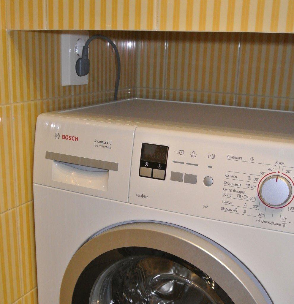 Как установить стиральную машину в ванной комнате своими руками