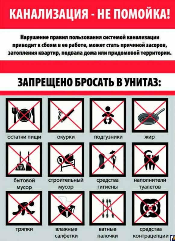 Какие предметы нельзя смывать в унитаз – 15 самых опасных вещей!