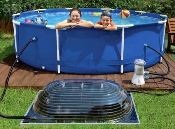 Как правильно помыть и хранить каркасный и надувной бассейн зимой