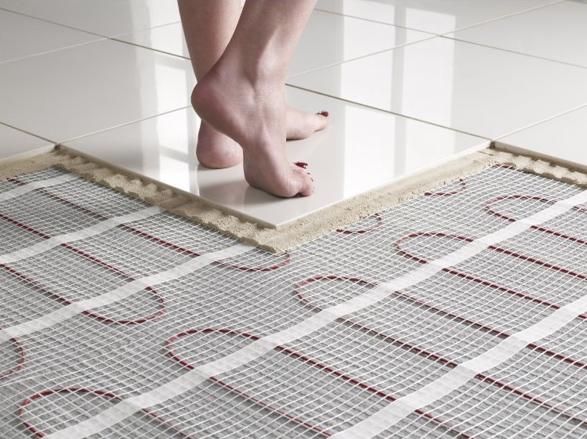Инфракрасный теплый пол под плитку своими руками - пошаговая инструкция