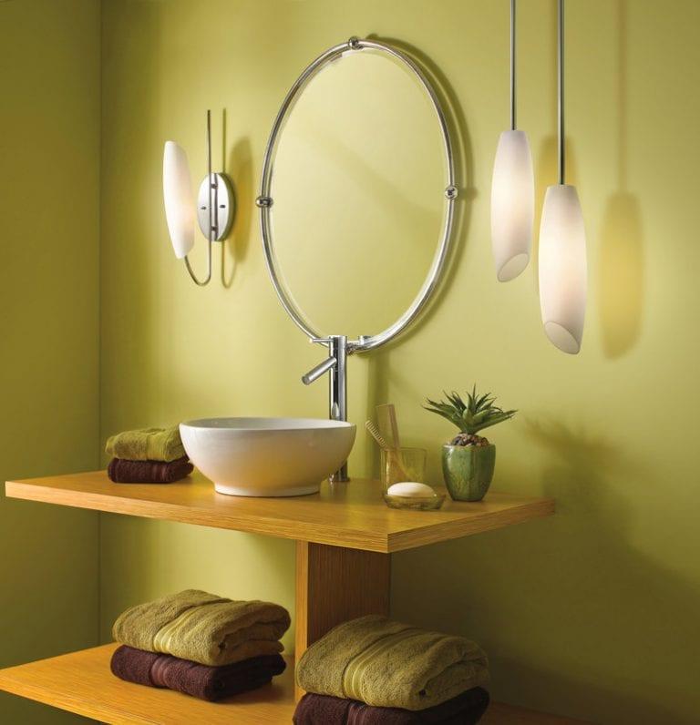Правильное освещение в ванной комнате для вашей красоты