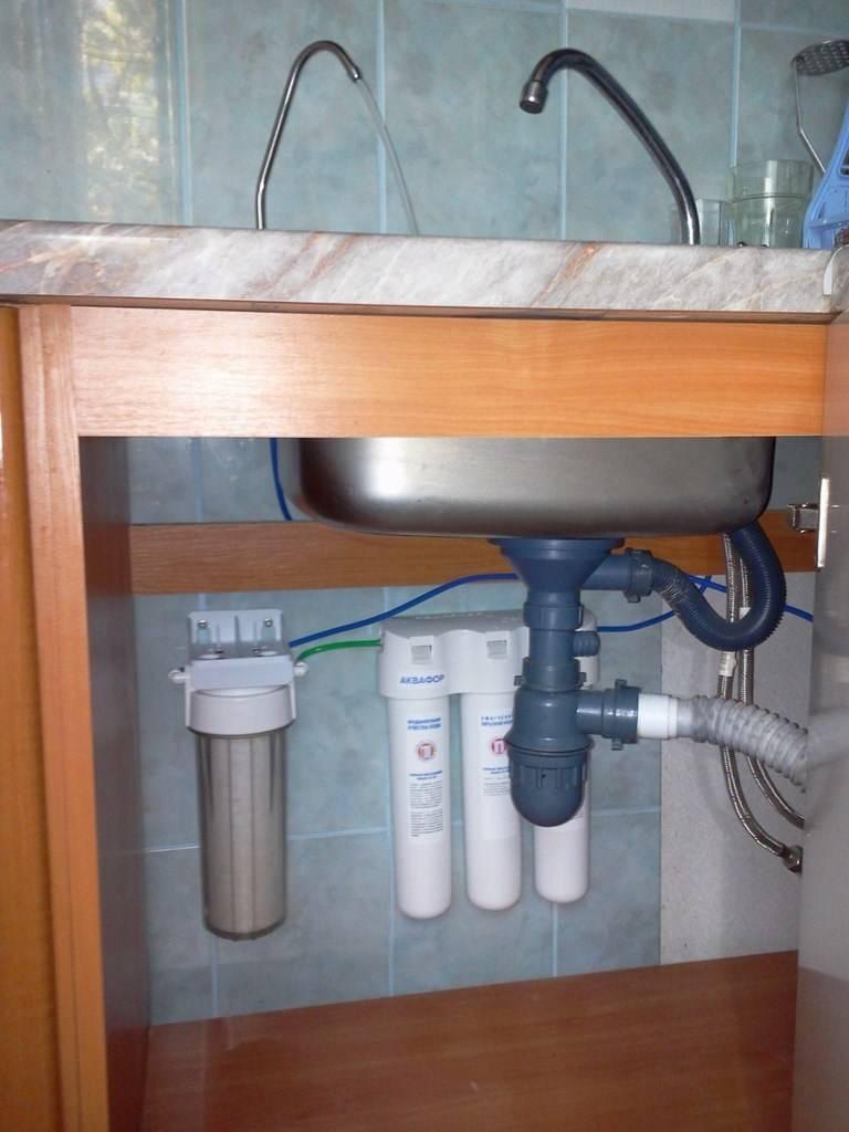 Фильтры для воды под мойку: как выбрать и установить?