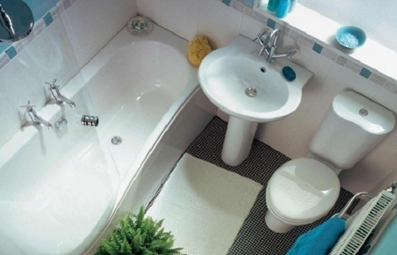 Дизайн маленькой ванной комнаты - рекомендации и идеи с фото