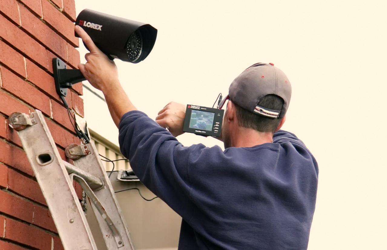 Видеонаблюдение для частного дома: выбор и установка своими руками