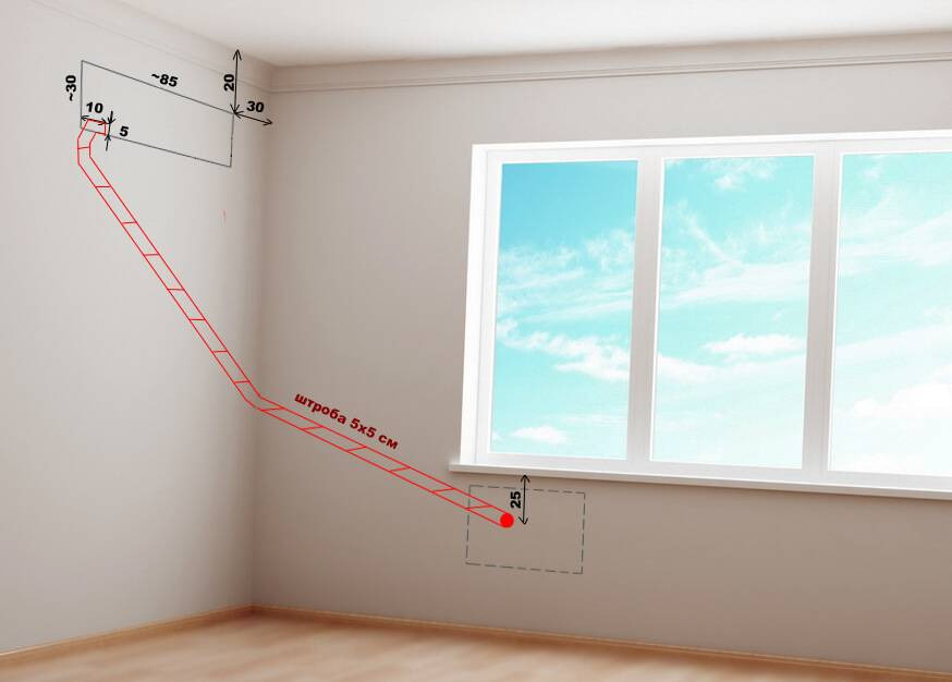 Прокладка кабеля по фасаду здания: крепление к стене, пуэ, видео
