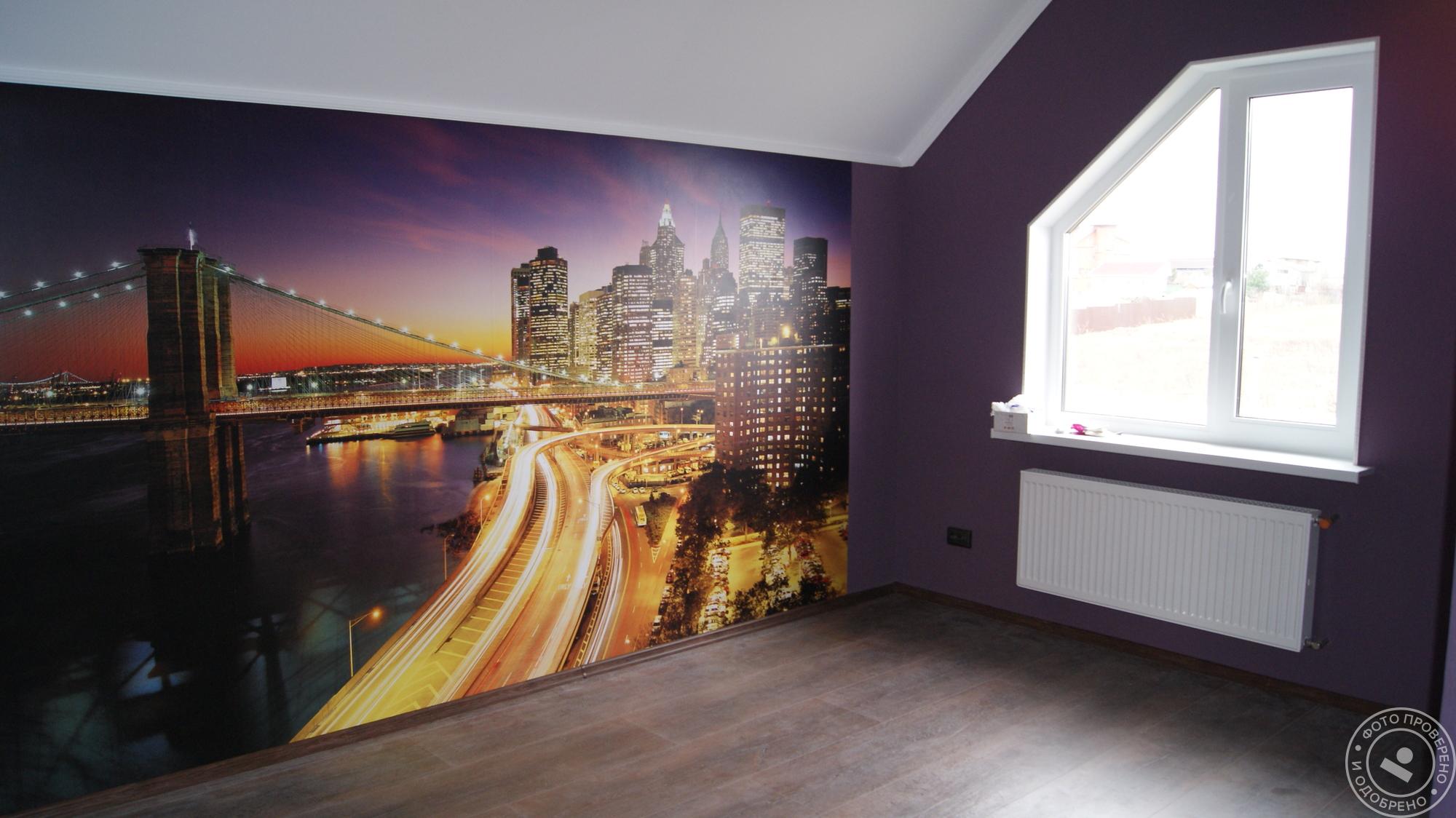 Фотообои в интерьере квартиры — советы по выбору
