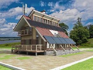 Энергоэффективные дома, покрывающие расходы за тепло и электричество