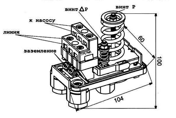 Пошаговая инструкция, как отрегулировать реле давления воды в гидроаккумуляторе