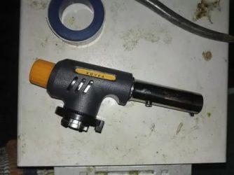 Ручная газовая горелка для пайки: устройство, выбор, применение и сборка самодельной минигорелки
