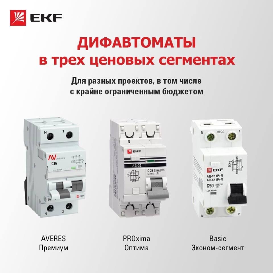 Дифавтоматы и узо: в чем разница (фото, видео)