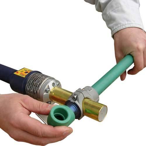 Как соединить самому металлопластиковые трубы с полипропиленовыми?