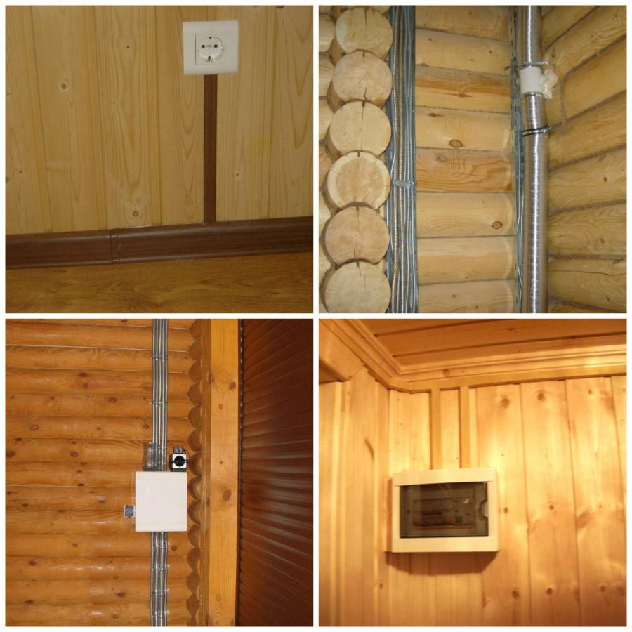 Проводка в деревянном доме своими руками: правила и рекомендации по монтажу