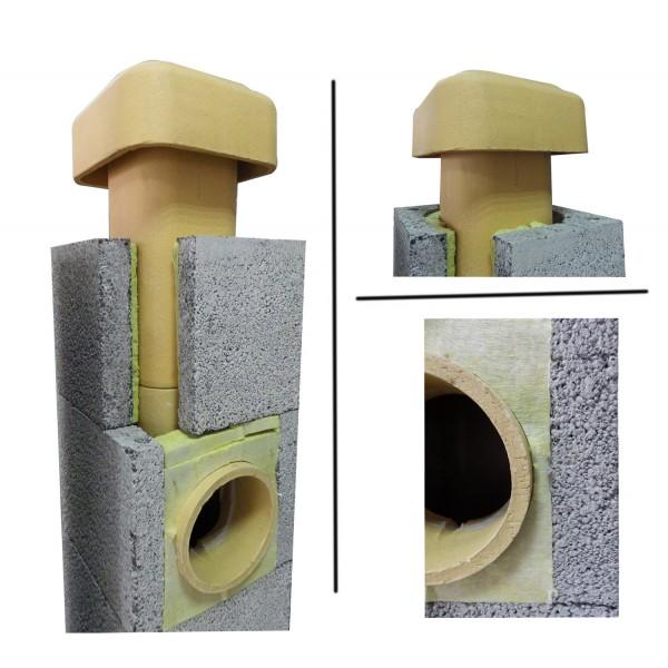 Керамический дымоход - плюсы и минусы, как выбрать и установить