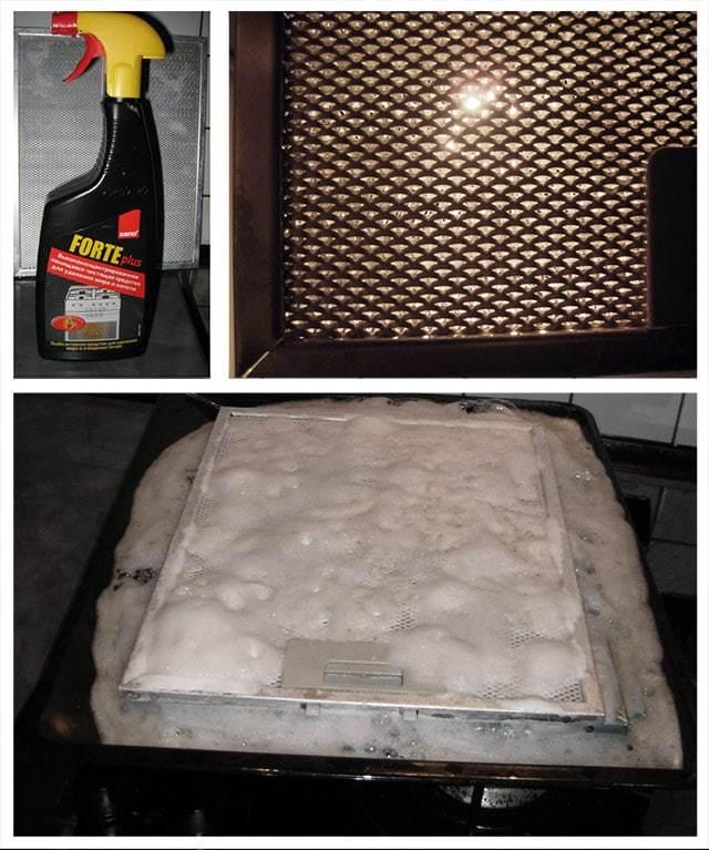 Как очистить вытяжку на кухне от жира: обзор средств