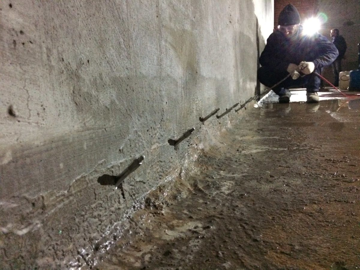 Почему появляются трещины на бетоне после заливки. почему трескается бетон при высыхании: причины