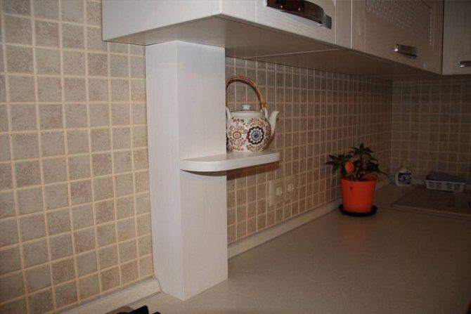 Как спрятать газовую трубу на кухне — разные способы маскировки