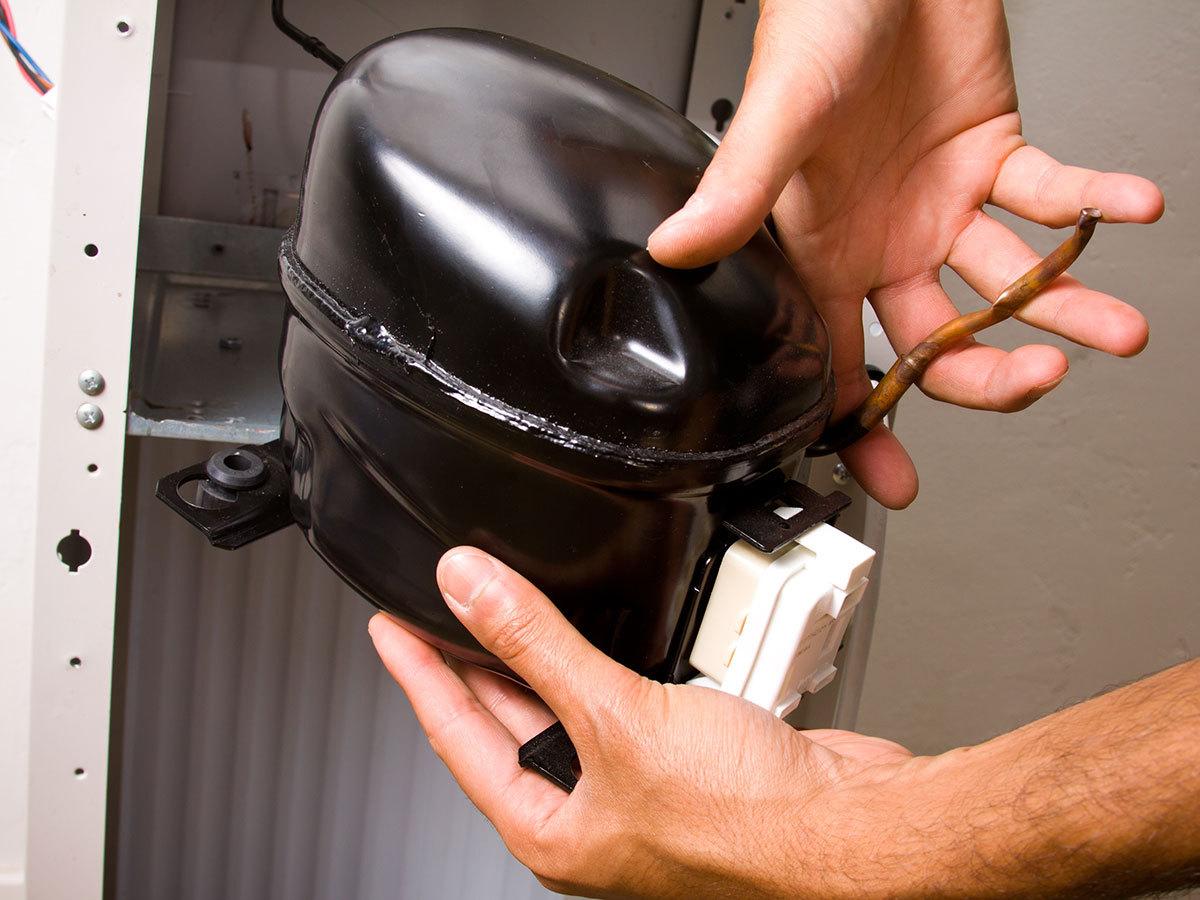 Как заменить компрессор в холодильнике своими руками