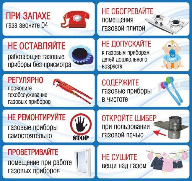 Запах газа в квартире: что делать и куда звонить