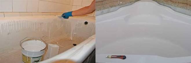 Реставрация ванны своими руками - 4 варианта!