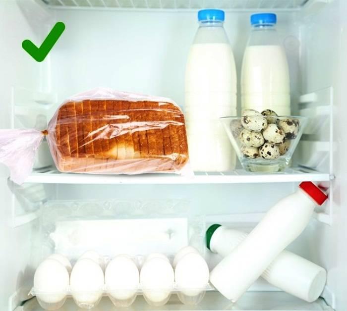 Можно ли хранить хлеб в холодильнике: почему говорят что нельзя, срок годности хлебобулочных изделий по госту