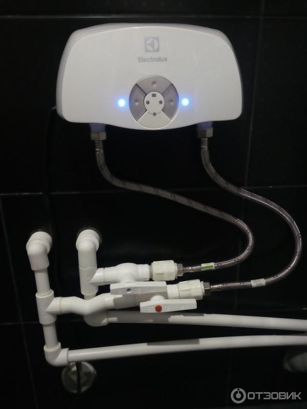 Проточный электрический водонагреватель электролюкс: особенности, принцип работы системы electrolux