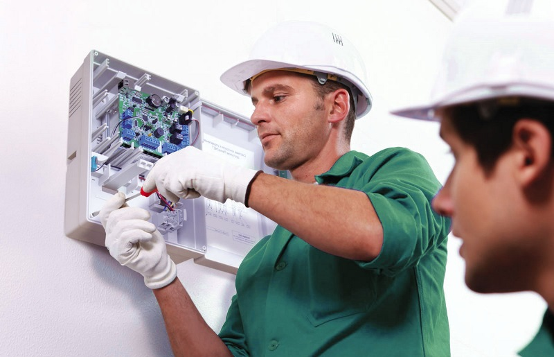 Монтаж  охранной пожарной сигнализации