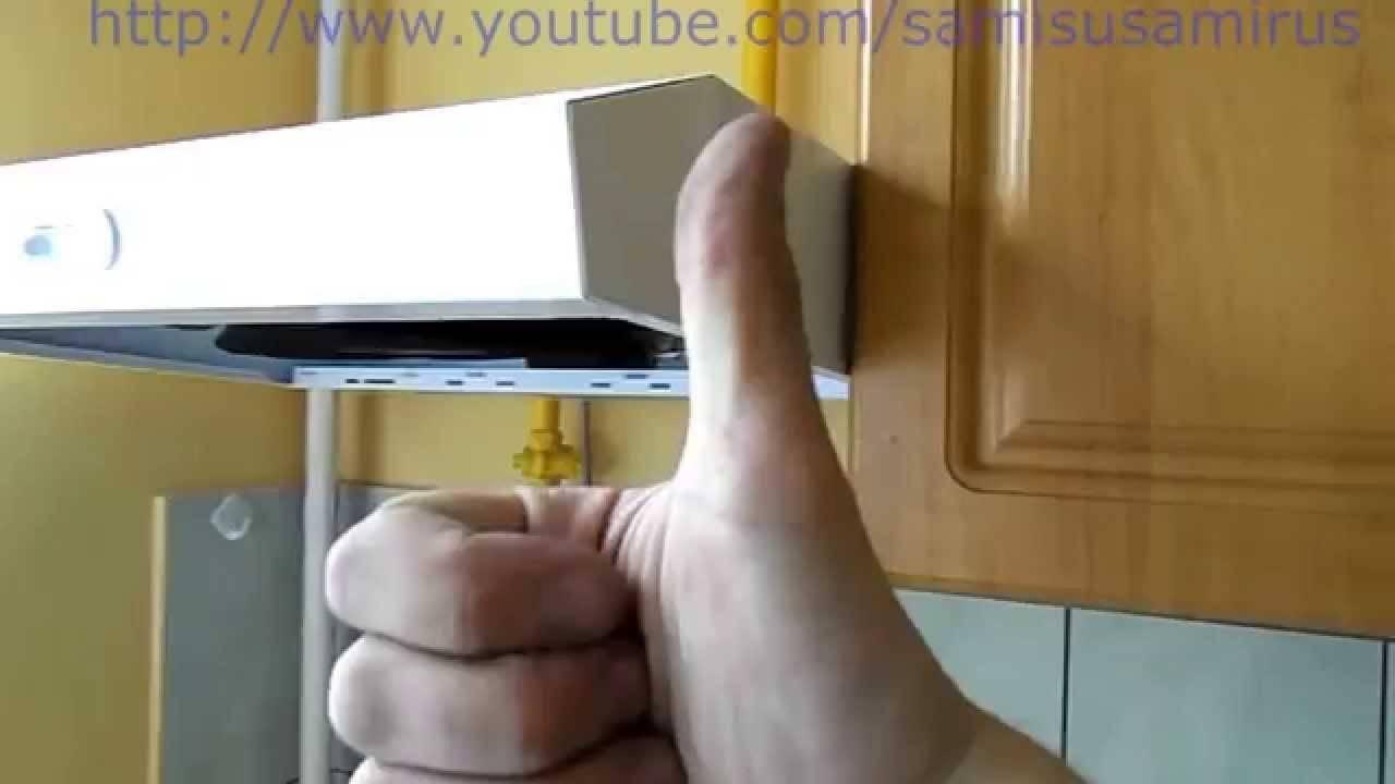 Как повесить вытяжку над газовой плитой: пошаговое руководство по монтажу