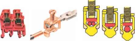 Зажимы для проводов: разновидности зажимов + порядок выполнения зажимного соединения