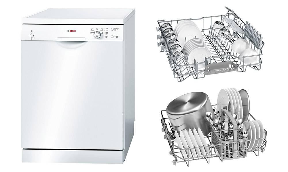 Посудомоечная машина bosch sms24aw01r serie 2 silence с экономным расходом воды