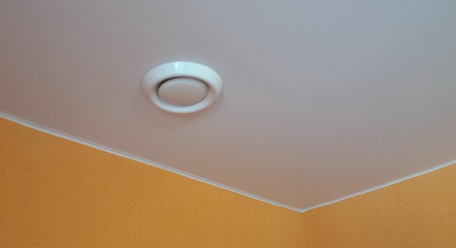 Потолочная вентиляция: принцип работы
