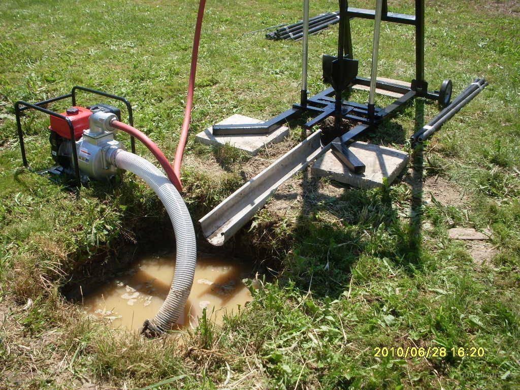 Гидробурение скважин своими руками – гарантия получения чистой воды!