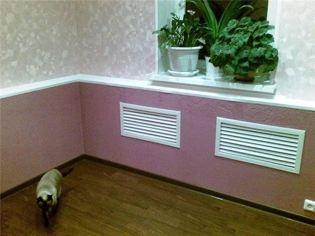 10 советов, как спрятать радиатор отопления + фото