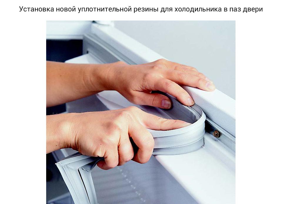 Уплотнитель для холодильника: правила выбора и замены уплотнительной резинки - точка j