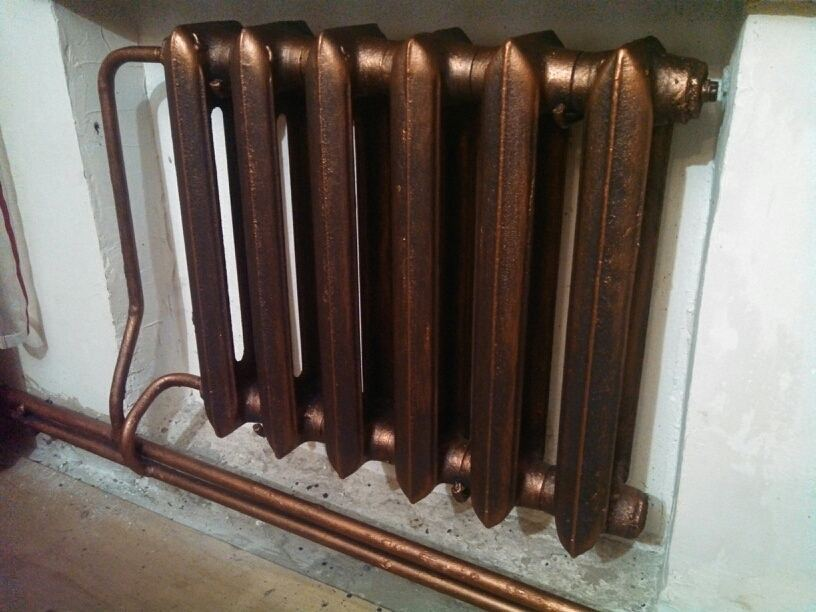 Какой краской можно красить радиаторы отопления