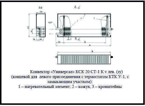 Конвекторы кск-20